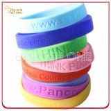 Progettare il Wristband per il cliente di gomma stampato matrice per serigrafia