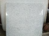 China um pavimento branco do granito da pérola de Shangdong da classe