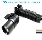 Erains Tac Optics Tactical 550 Lumens Screw Detach Dura Handgrip de alumínio e LED Light Lanterna LED Lanterna com lâmpada de leitura anexada