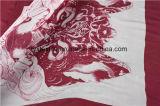 Impression de Digitals avec le tissu en soie animal de Patternoon