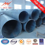 Round 5mm 20m Galvanized Steel Tubular Pole for Power Distribution