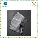 La insignia modificada para requisitos particulares las ventas al por mayor imprime el bolso transparente del embalaje del PVC (JP-plastic040)