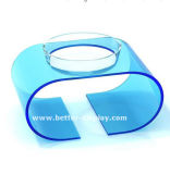 بلاستيكيّة أكريليكيّ مصّ فنجان [بت فوود] قصع