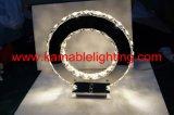 Lámpara de tabla moderna cristalina del diseño LED de Fashional (MT77057-12A)