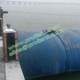 Presa de goma de relleno de la vejiga del agua del agua redonda de China a Paquistán