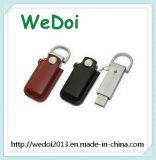 Выдвиженческий USB кожи типа дела подарка (WY-L06)