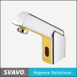 Faucet automático da torneira de água do projeto da forma feito da liga do zinco e do ABS (V-AF5014)