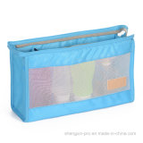 装飾的な袋はポリエステルおよび網から成っている袋を構成する