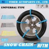 Materielle Schnee-Ketten des Hotsale100% Kabel-TPU für Autos