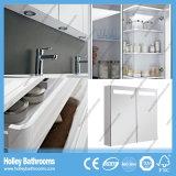 イギリス様式熱い販売MDFは自由に床を張る-取付けられた浴室の虚栄心(BF141V)に