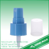 24/410 de pulverizador liso azul da névoa do fechamento dos PP para o líquido
