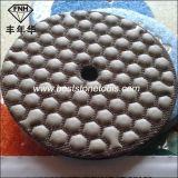 Гибкий истирательный диск диаманта смолаы для влажного сухого полируя мрамора