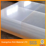 Лист /Plexiglass акриловой доски прозрачный пластичный стеклянный акриловый