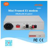 MiniType Framed E1 zu Fiber Optical Modem