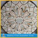 Natürliches Marmorsteinwasserstrahlmedaillon, Medaillon-Muster