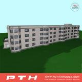 Edificio de oficinas prefabricado del estilo de Halal con talla modificada para requisitos particulares