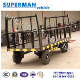 5t Utilitário Flatbed Luggage Transport Cargo Full Trailer