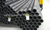 St44 ASTM A53/A106 GR. Tubulação de aço sem emenda de tubulação de aço de carbono de B