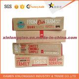 Papel de design personalizado Papelão Caixa de embalagem de laticínios / queijo de etiqueta privada
