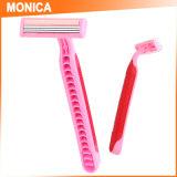 Monica Hair Salon uso de plástico y acero inoxidable de afeitar la hoja