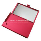Aluminum classique Business Card Holder avec Mirror
