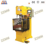 PLC Hydraulic C-Frame Single Column Press per Shaft Sleeve Parte Press Mounting (HP-63C)