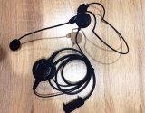 Derrière l'écouteur principal avec le boum flexible MIC pour Eads Tetrapol G2 Mc9620