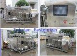 관 주스 Pasteurizer 기계에 있는 가득 차있는 자동적인 관