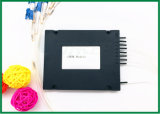 8 canaletas CWDM Mux Demux no Multiplexer da caixa plástica