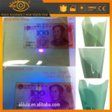 Pellicola UV verde della finestra di automobile di cura di pelle di rifiuto di colore 100%