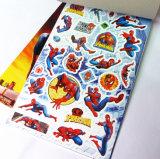 Cojines de encargo de las etiquetas engomadas del hombre araña