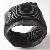 Tubo ondulato di gomma personalizzato del mercato della costruzione