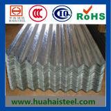 Corrugated гальванизированные настилая крышу стальные листы (DC01)