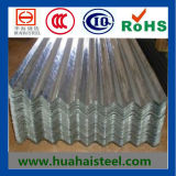 Hojas de acero que cubren galvanizadas acanaladas (DC01)