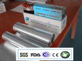 Roulis de papier d'aluminium d'Ovenable de longueur de l'alliage 8011-0 0.015X150mm 150m