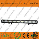 47inch 12V24V 260W 크리 말 LED Work Light Bar SUV 4X4 Truck Boat Marine Light
