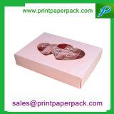 Caja de embalaje cosmética de Delacate de la venta al por mayor hecha a mano del desplazamiento