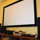 Qualitäts-flacher örtlich festgelegter Rahmen-Bildschirm mit 10 cm dem Rahmen