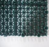 Blockierenverschobener modularer Tennis-Bodenbelag, Sport-Bodenbelag (Tennis-Goldsilber-Bronze)
