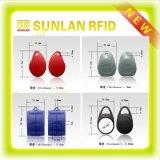Freies Sampels Promotional RFID ABS und Leather Smart Key Tag /Key Chain/Key Ring /Key Fob