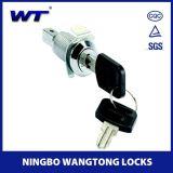Cilindro de bloqueio de gabinete de ferramentas com chave tubular