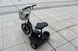 """Triciclo elétrico 48V 500W do certificado, triciclo elétrico barato, """"trotinette"""" quente da potência solar da venda"""