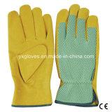 Das Schwein-aufgeteilte Leder, das Handschuh-Schützende Handschuh-Sicherheit Handschuh-Arbeitet, Handschuh-Arbeiten Handschuh