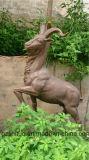 12 signes de zodiaque, sculpture extérieure en en cuivre de moulage de décoration de jardin