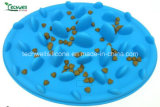 Silicone Vendre Hot Dog Pet Feeder lente Bowl