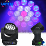 Factroy Sale 19*12W Bee Eye Zoom Beam Moving Head Light