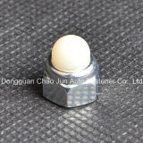 Écrou borgne en nylon Hex d'acier du carbone DIN986 pour des meubles