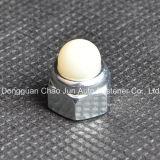 Гайка крышки стали углерода DIN986 Hex Nylon для мебели