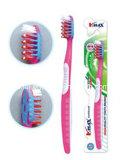 Cepillo de dientes para adultos masaje con limpiador lingual
