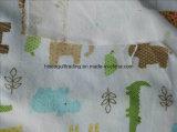 Gedrucktes Baumwollflanell-Gewebe für Baby-Zudecke/Baby-Kleid